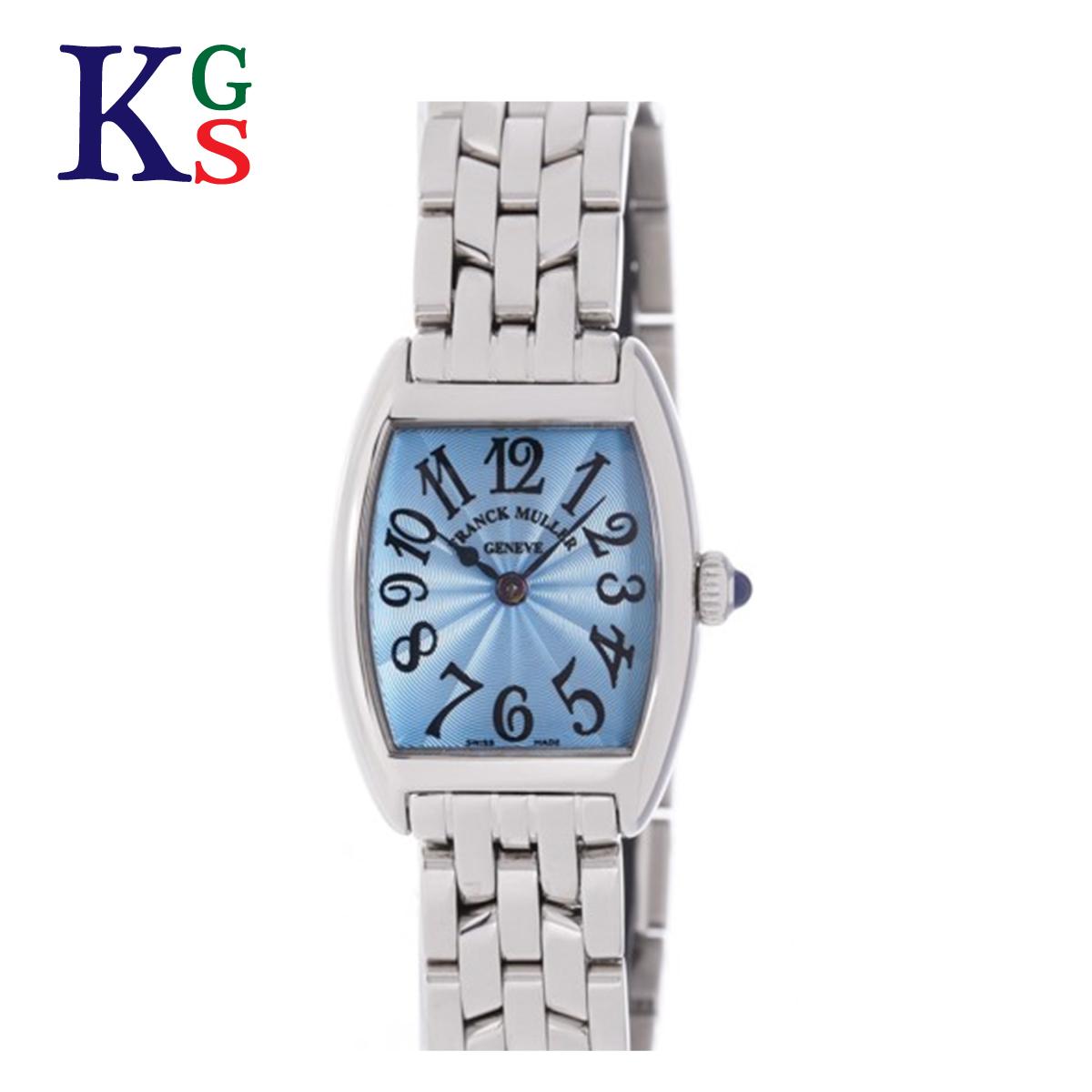 【ギフト品質】フランクミュラー/FRANCK MULLER レディース 腕時計 トノーカーベックス ステンレススチール ブルーギョウシェ文字盤 クオーツ 2251QZ