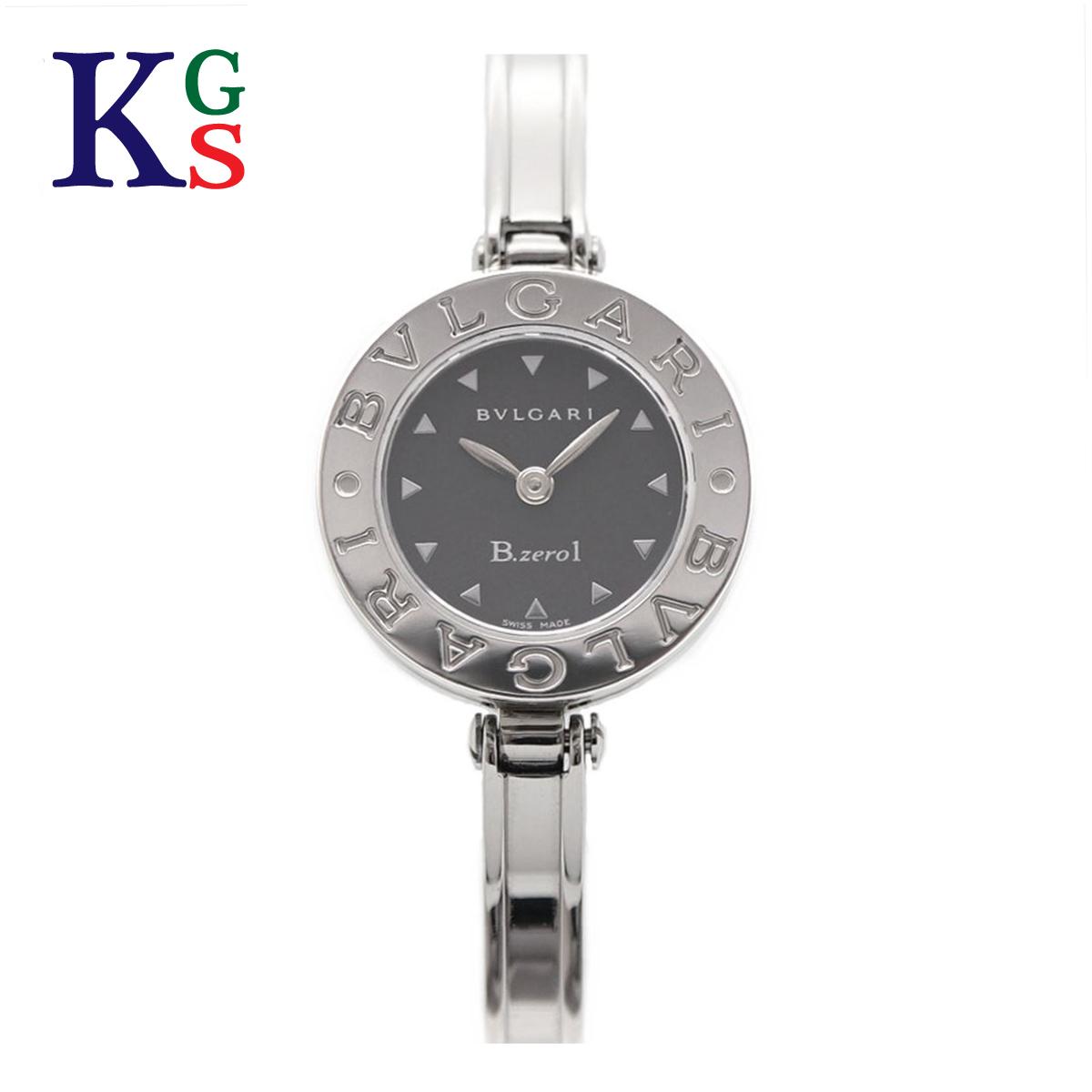 【ギフト品質】ブルガリ/BVLGARI レディース 腕時計 B.zero1 ビーゼロワン バングルウォッチ 黒文字盤 ステンレススチール クオーツ BZ22BSS