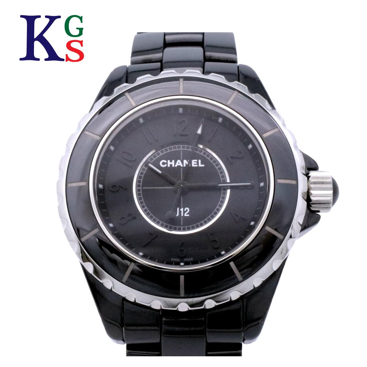 【新品】シャネル/CHANEL レディース J12 腕時計 インテンスブラック ワンショットモデル クオーツ セラミック H3828
