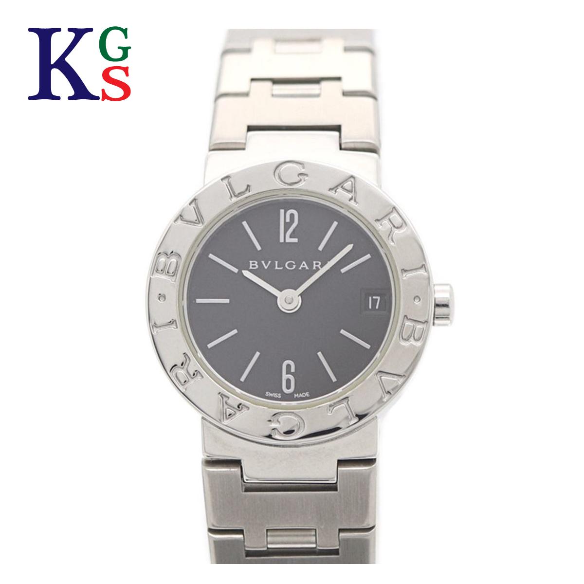 【ギフトランク】ブルガリ/BVLGARI レディース 腕時計 BVLGARI×BVLGARI 黒文字盤 ステンレススチール クオーツ BB23SS