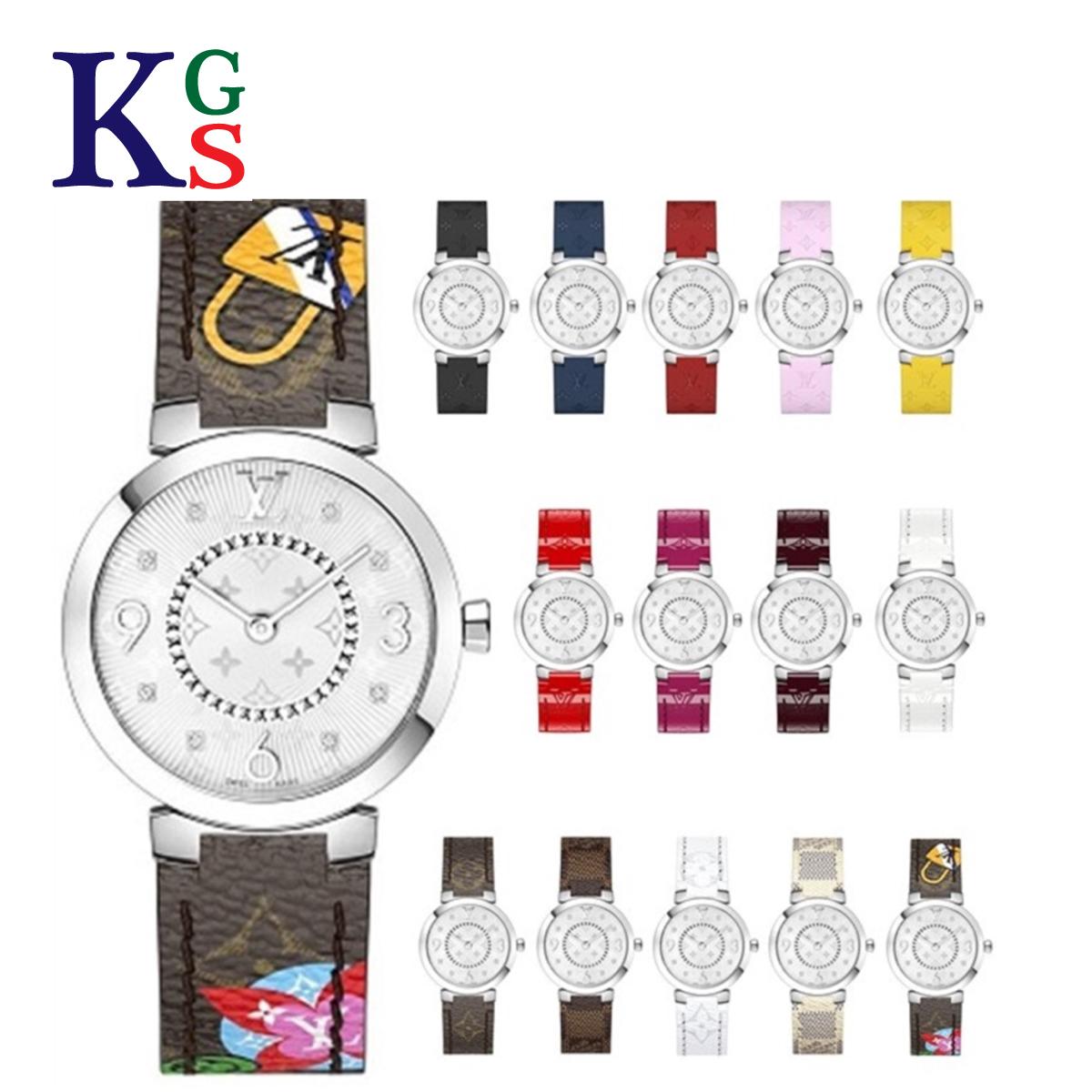 【ギフト品質】【現行品】ルイヴィトン/Louis Vuitton レディース 腕時計 タンブール スリム PM 28 8Pダイヤインデックス クオーツ 50m防水 Q12MGZ