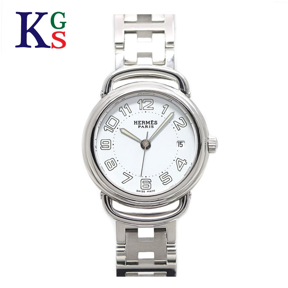 【ギフト品質】エルメス/HERMES レディース 腕時計 プルマン ホワイト文字盤 クオーツ 電池式 PU2.210