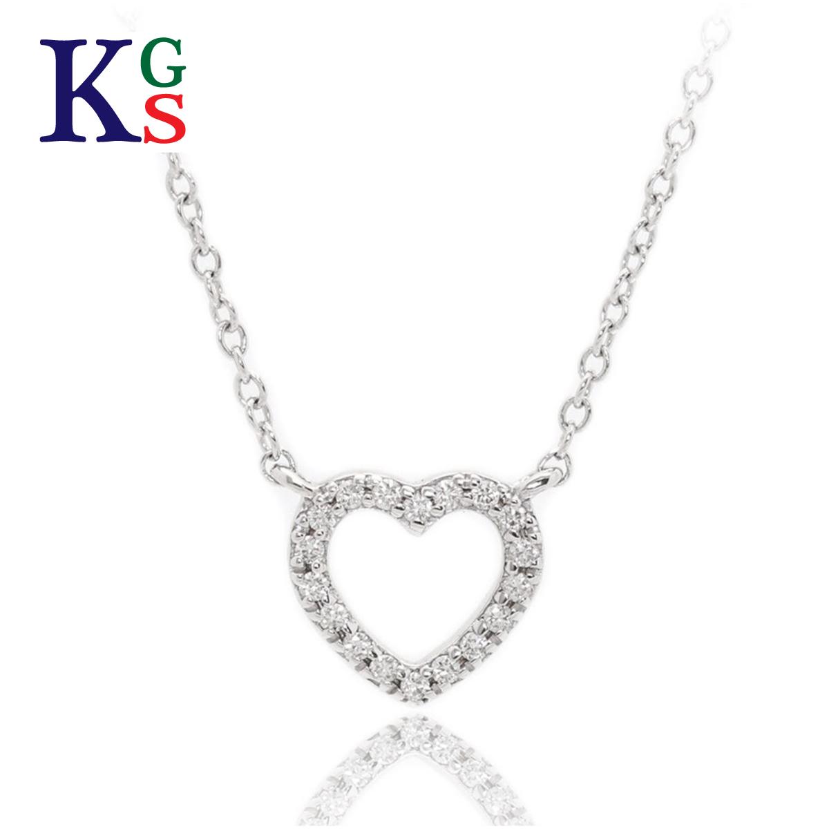 【ギフト品質】ティファニー/Tiffany&co レディース ジュエリー メトロハート ネックレス ホワイトゴールド K18WG 18Pダイヤ