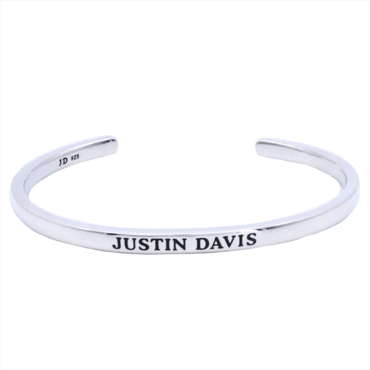 【ギフト品質】ジャスティン デイビス/JUSTIN DAVIS レディース ジュエリー DIGNITY バングル ブレス M Ag925 SBJ771