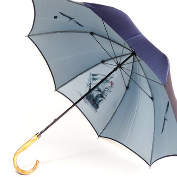 傘 メンズ おしゃれ 雨傘 長傘 【送料無料!】【ランキング1位入賞】裏ほぐし織り 「大航海時代」 天然木手元 カーボン骨 軽量 高品質 日本製 男性用 紳士用バッグ・小物・ブランド雑貨 傘 メンズ雨傘[傘一番館]