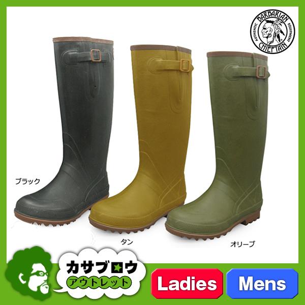 レインブーツ レインシューズ レディース メンズ ユニセックス 男女兼用 ロング 長靴 バーバリアンチーフテン 雨靴 人気 おしゃれ 完全防水