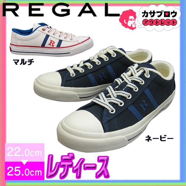 [REGAL] REAGAL Ladies レディーススニーカー BE58 カジュアルシューズ ローテクスニーカー ロゴ おしゃれ