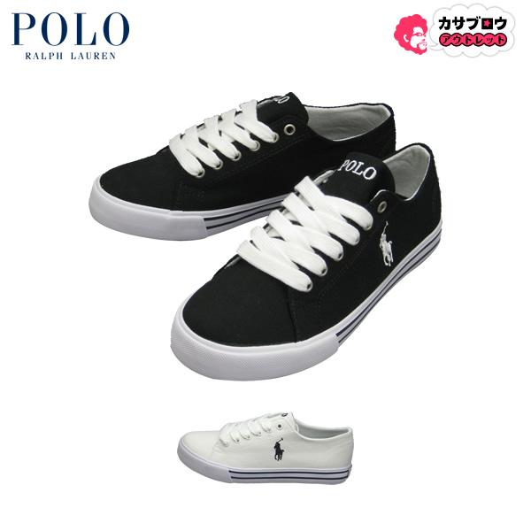 【キャッシュレスで5%還元】 ポロ ラルフローレン [POLO] キッズスニーカー SCHOLAR キャンバススニーカー シューズ 靴