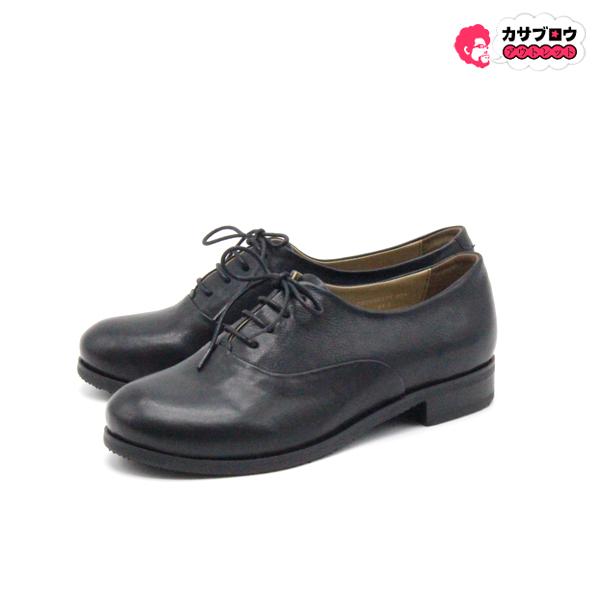【3980円以上送料無料】 [アシナガオジサン] 革靴 7650171 レディース レースアップシューズ