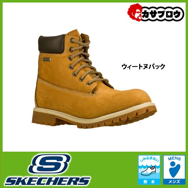 [スケッチャーズ] SKECHERS RAWLING- DORSON 63997 メンズ ブーツ カジュアル レースアップ 防水