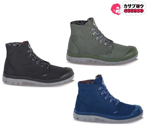【3980円以上送料無料】 パラディウム 靴 スニーカー PALLADIUM Pampa Puddle Lite Wp メンズ