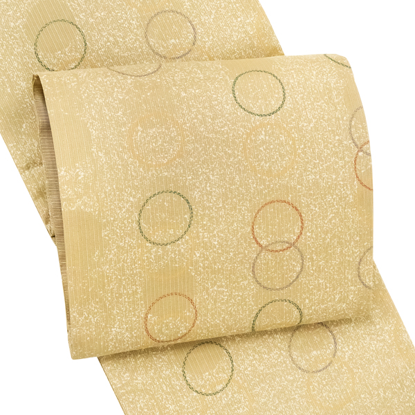 お仕立て付き 洒落袋帯 洒落 袋帯 カジュアル 仕立て付き 大島紬 正絹 新品 販売 購入 アウトレット 在庫処分 最安値挑戦 未仕立て ブランド買うならブランドオフ 茶色 ベージュ色 セール 仕立て込み 洒落帯 fo-466 全通