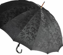■受注作成【所要約3カ月】Royal16 for MEN(ブラック) たま留めつき楓ハンドル「皇室御用達」 前原光榮商店 紳士雨傘