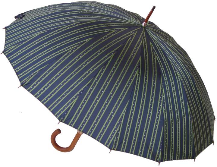 【名入れOK】前原光榮レジェンド16(ウィンストン・ネイビー)「皇室御用達」前原光榮商店 紳士雨傘お名前彫りなしは即納できますお名前彫り有の場合は4/24(水)仕上り予定心斎橋みや竹オリジナル仕様