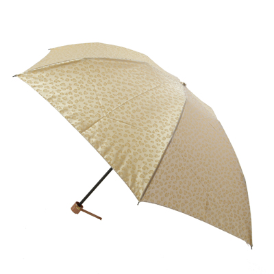 アニマルハート ジャガードポリエステルサテン婦人用雨傘丸ミニ折畳