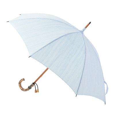 レディースパラソル(日傘)浴衣を引き立てる日本の和の日傘木棒手開(ストライプ柄)バッグ・小物 傘 レディース日傘