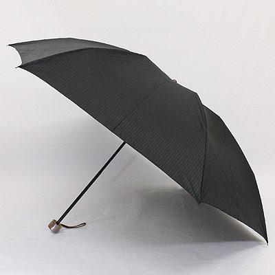FRANCO FERRAROフランコ・フェラーロ「縞柄」紳士ポリエステル先染 メンズ丸ミニ雨傘