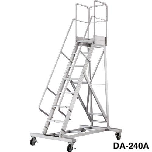 送料無料 組立式作業台 ライトステップ 長尺型 DA-A(天板高さ:2,360mm DA-240A)(新品)(長谷川工業)