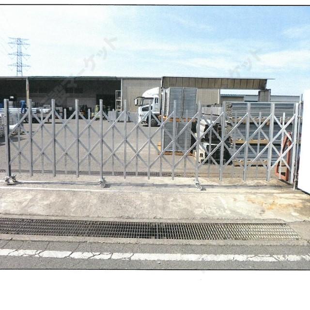 クロスゲート5.0m (H1.8m)右固定用(スチール製)(新品)(別途送料お見積り品)(タカミヤ)