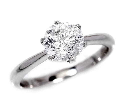 プラチナ2.0ctダイヤモンドリング