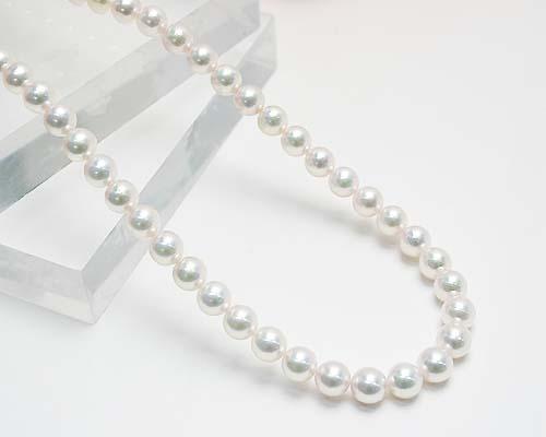 【限定1本】あこや真珠の最高品質!SIL 8.5-9mm花珠本真珠ネックレス