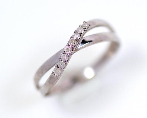 SV 0.1ct ダイヤモンドリング (267298)