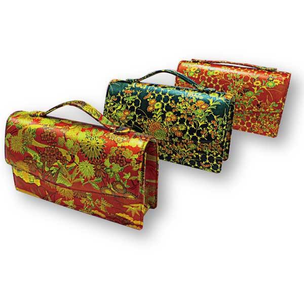 雅 2丁ばち入れ 和装バッグとしても良い感じ!