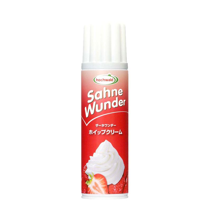 ワンプッシュで手軽にホイップクリーム SKW ザーネワンダーホイップクリーム 250ml(常温)