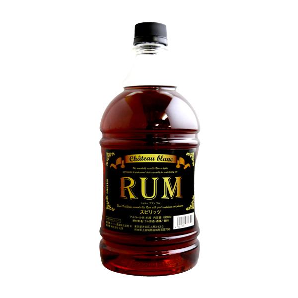 製菓用ラム酒 (PB)丸菱 ドーバー ラムダーク 45度 1800ml(常温)