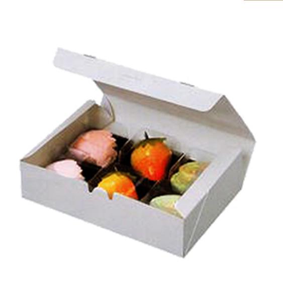 製菓製パン 手作り 業務用 和菓子上用カートン NO6 180×120×48mm 50枚(常温)
