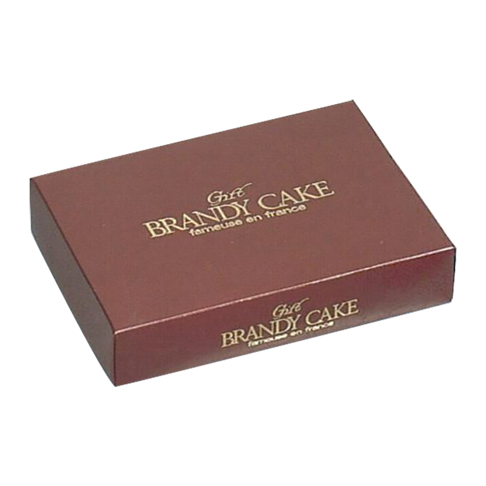 \マラソン期間P5倍/【予約商品】中澤 茶ブランデーケーキ用 菓子箱 2本用 172×250×55mm 100枚【常温】