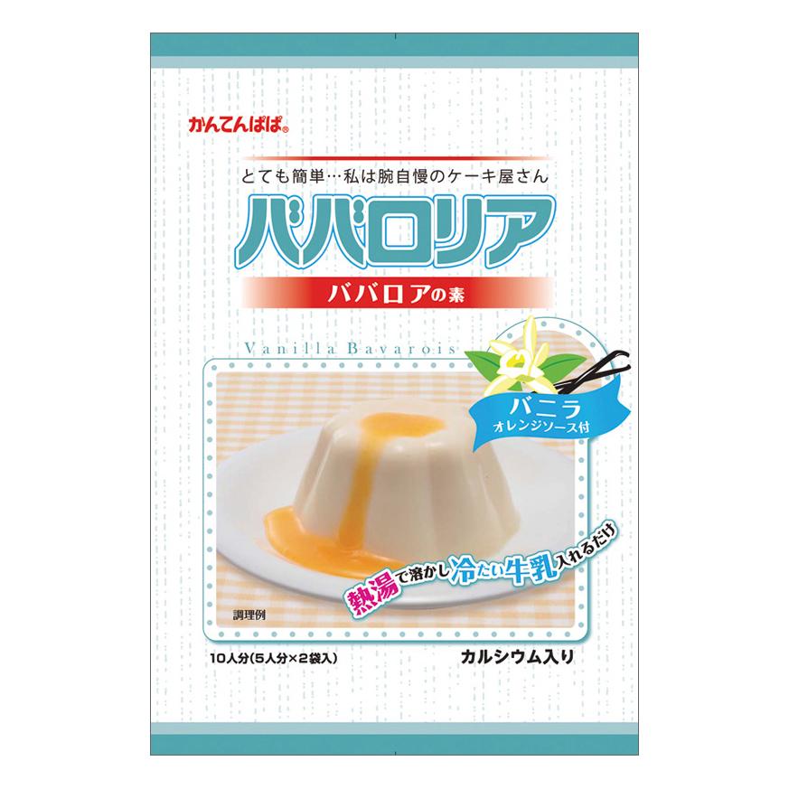 伊那食品 かんてんぱぱ ババロリア バニラ 75g×5個入 【常温】