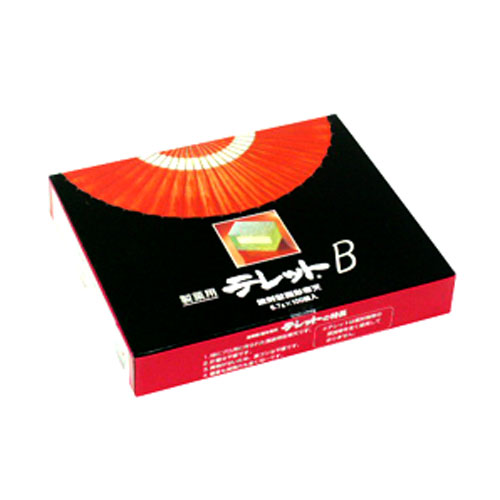 伊那食品 テレットB 錠剤型固形寒天 6.7g×100錠【常温】