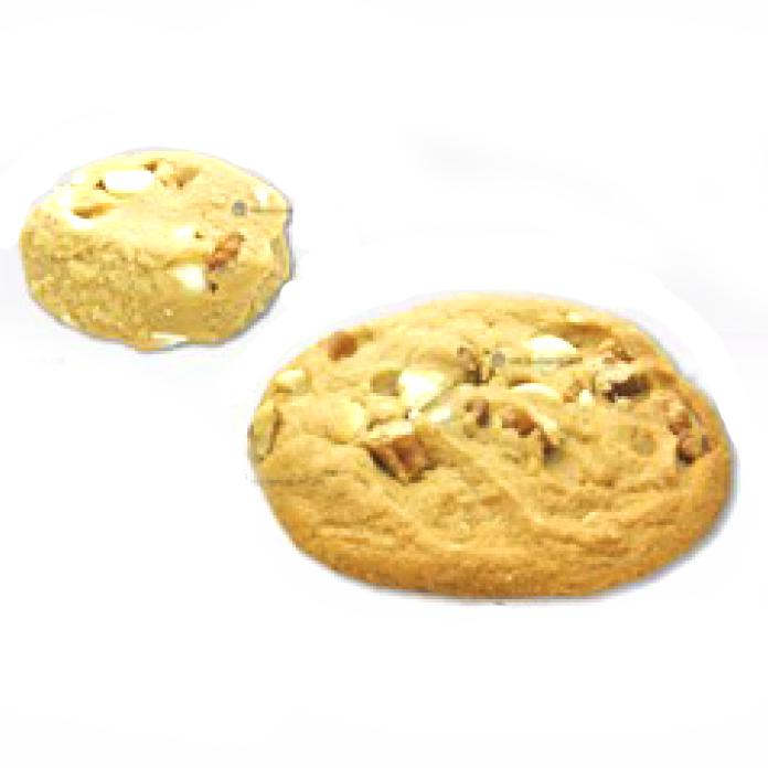クッキーツリー社 冷凍クッキー生地 ホワイトチップピーカン 28個×8パック 37g×224個【冷凍】