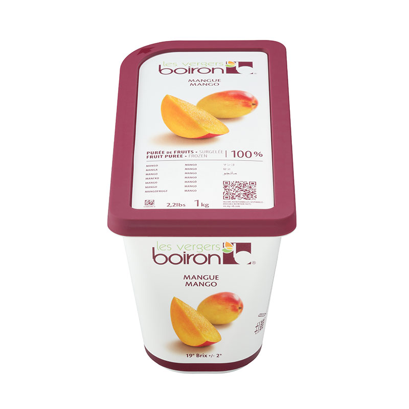製菓製パン 手作り 材料 業務用 boiron ボアロン ボワロン 至高 交換無料 マンゴーピューレ 冷凍 1kg