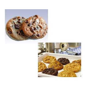 クッキーツリー ダークチョコレートチャンク 28個×8パック 224個 【冷凍】