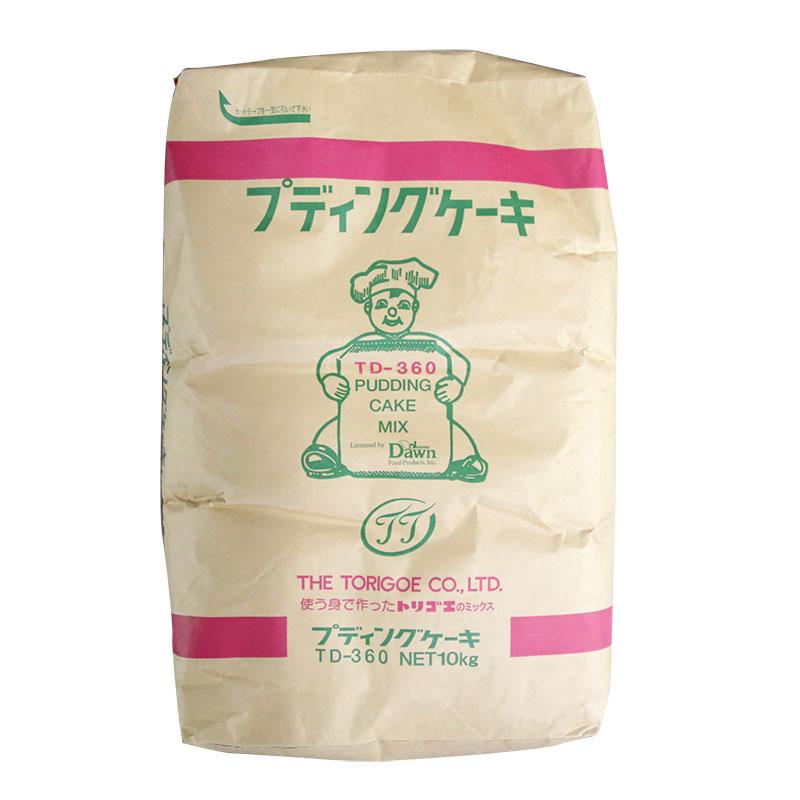 製菓製パン 手作り 業務用 鳥越 製菓製パン用ミックス粉 TD-360プディングケーキ 10kg (常温)