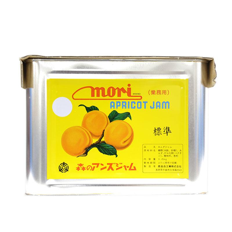 森食品 森のあんずジャム 杏ジャム ナミJAS 11.25kg 9L缶【常温】