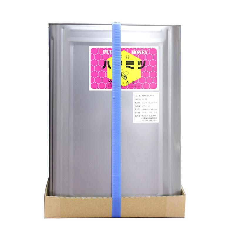 (PB)丸菱 純粋はちみつレンゲ 蜂蜜 25kg(常温)