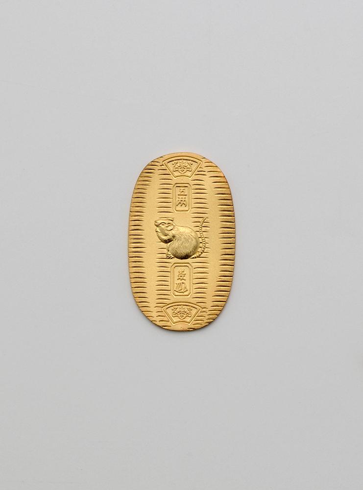 純金製の小判 / 2020年 / 干支 純金製 小判『子』(小)5g