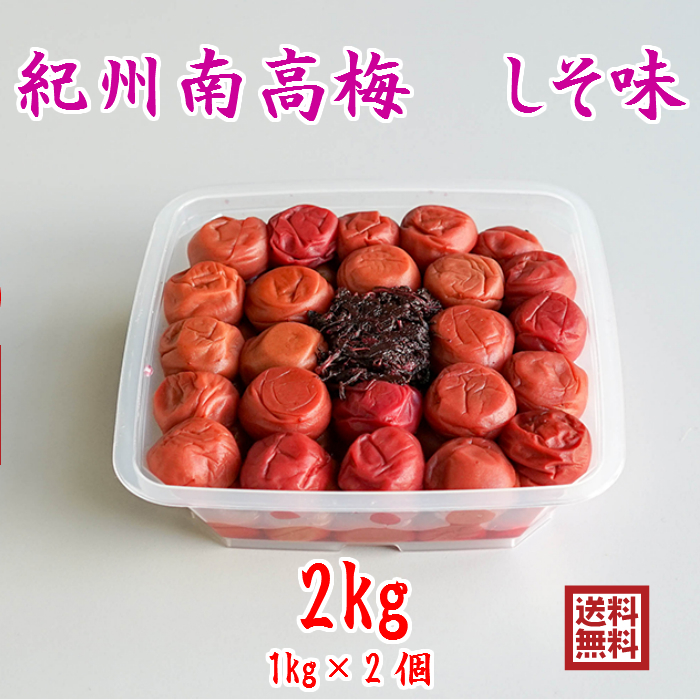 自家製の青梅と塩 しそ のみで漬け込みました 定番から日本未入荷 昔ながらのすっぱい梅干しに紫蘇の風味を味わえます 少し傷等ございます 大傷 皮堅は除いております 南高梅干し 激安 激安特価 送料無料 訳あり 2キロ 無添加しそ お得 送料無料 梅農家 家庭用