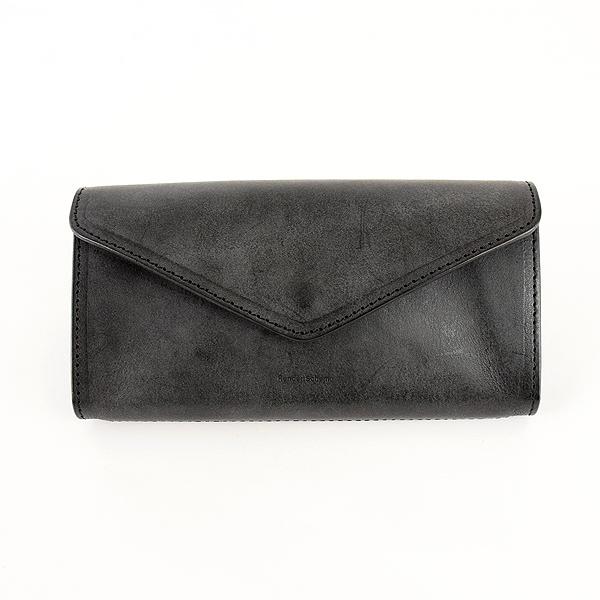 【エントリーでポイント最大10倍7/4~7/11迄】Hender Scheme エンダースキーマ 『long wallet (ロングウォレット)』 color: black