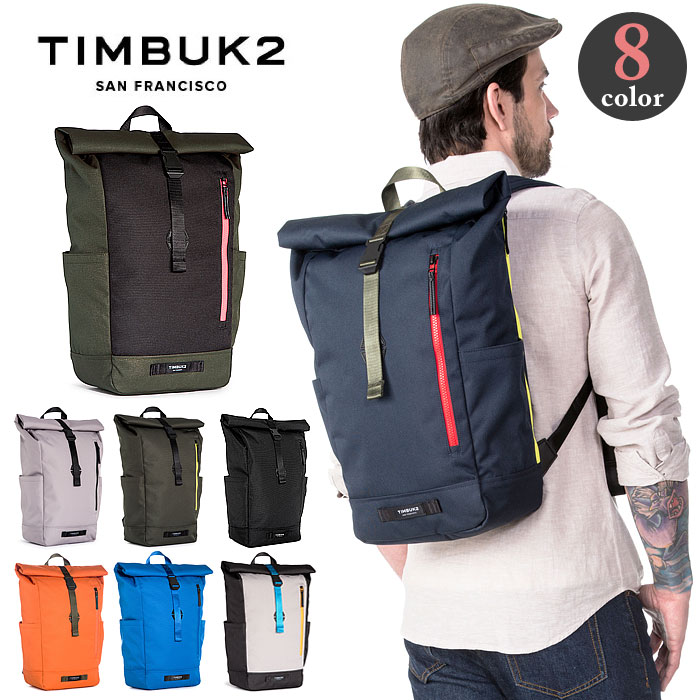 送料無料 ティンバック2 タックパック ロールトップバック リュック 定番 ピストバイク 自転車 カラー豊富 20リットル メンズ レディース TIMBUK2 Tuck Pack 1010-3