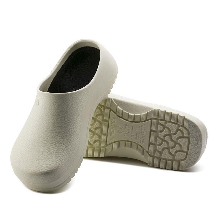 ビルケンシュトック プロフェッショナル スーパービルキー 68021 レディース メンズ サンダル ホワイト 白 幅広 靴 医療用 介護用 キッチン用 ワークシューズ 幅広 BIRKENSTOCK Super-Birki