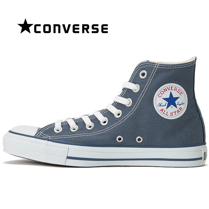 Converse CONVERSE all stars HI sneakers Lady's men canvas shoes constant seller shoes higher frequency elimination man woman Berlin blue navy ALL STAR