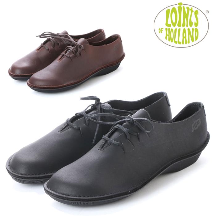 送料無料 ロインツ ターボ LT39758 レディース 黒 ブラック 茶 ブラウン コンフォートシューズ 靴 シューズ くつ 本革 レザー Loints