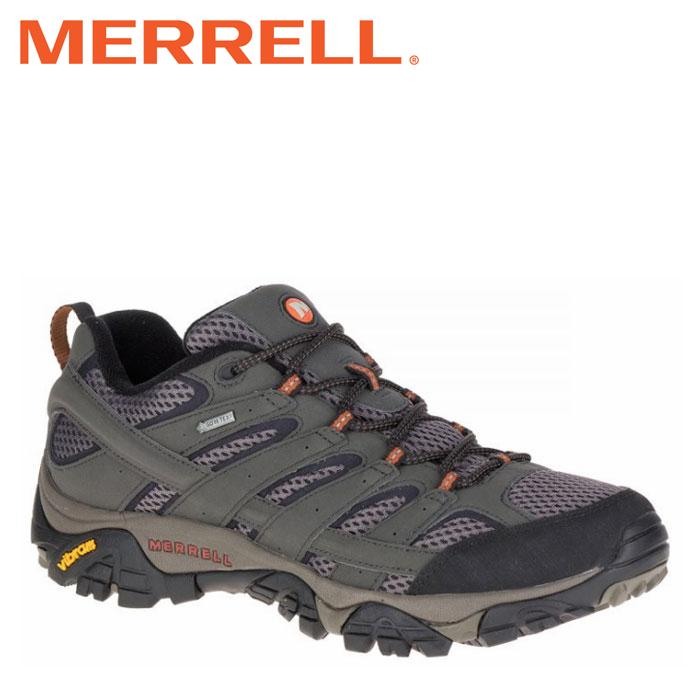 送料無料 メレル MERRELL モアブ 2 ゴアテックス ワイド ワイズ メンズ トレッキングシューズ ローカット カーキ ベルーガ MOAB2 GORE-TEX WIDE WIDTH BELUGA M06039W