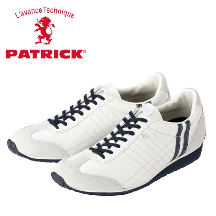 送料無料 パトリック アイリス スニーカー ホワイト 23422 メンズ レディース 定番モデル 日本製 WHITE 男性 女性 PATRICK IRIS P.WHT 靴 くつ
