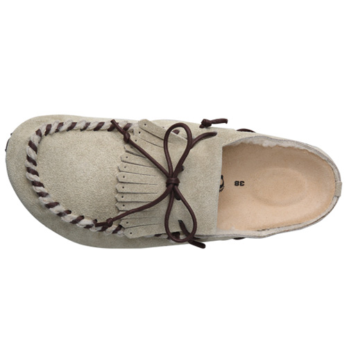 TATAMI by Birkenstock Nuuk Taupe tatami Birkenstock nook taupe women's women's suede BOA