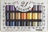 brother(ブラザー)カントリー21色刺繍糸セットCTS2102P03Dec16